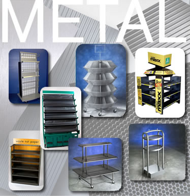 Metal Fixtures Metal Sign Holders Metal Displays Metal